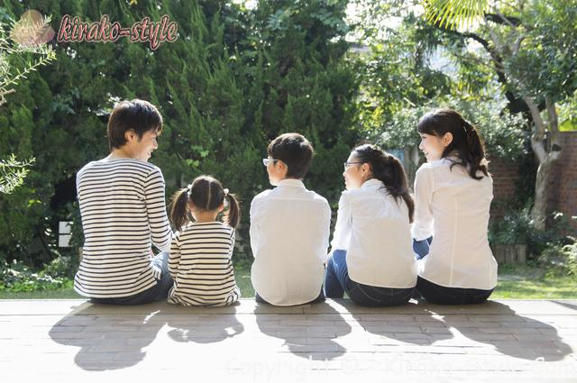 家族 ファミリー 庭