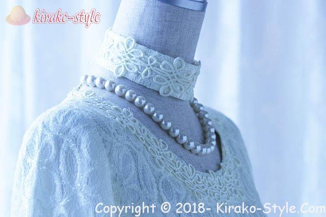 真珠のネックレス 初めて選ぶ長さとブランド!娘に教える、一連白真珠ネックレス