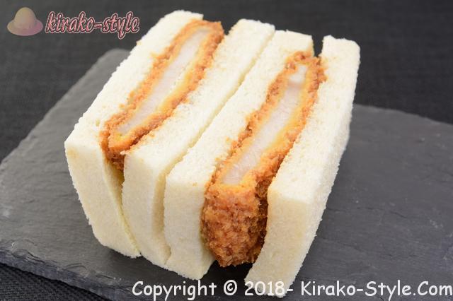 サンドイッチの具定番、カツサンド画像