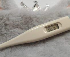 体温平熱36.5°C体温計