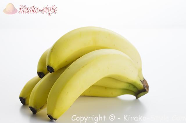 噛む回数の少ない食品、バナナ