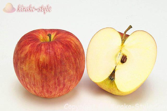 回数の多い食品のうち皮つきりんご